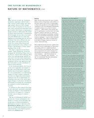 Nature of Mathematics - Project 2061