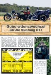 Fahrbericht BOOM Mustang ST1 - Boom Trikes