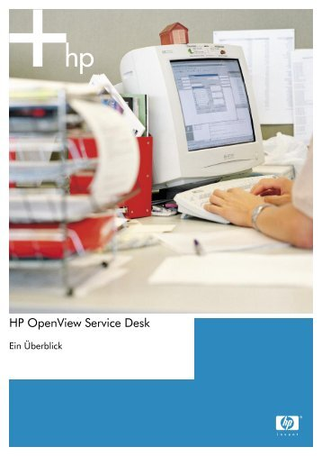HP OpenView Service Desk - eSell GmbH