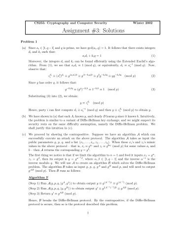 assignment 3 solutions Assignment 3: solutions 1 the number of permutations of 1,2,  ,6 with cycle  type 3+3 is (please enter only the final numerical answer): 40 three letters for  the.