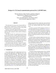 Design of a VIA based communication protocol for LAM/MPI Suite