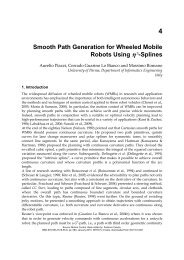 Smooth Path Generation for Wheeled Mobile Robots Using  3 ...