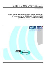 TS 100 916 - V7.5.0 - Digital cellular telecommunications ... - ETSI