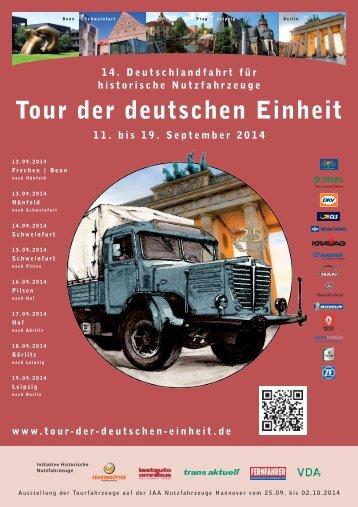 Tour der deutschen Einheit