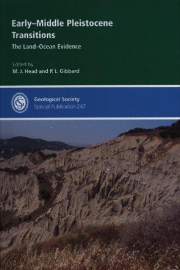 Early-Middle Pleistocene Transitions: The Land-Ocean ... - FANARCO