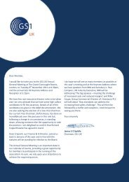 Notice of the Annual General Meeting - GS1 UK