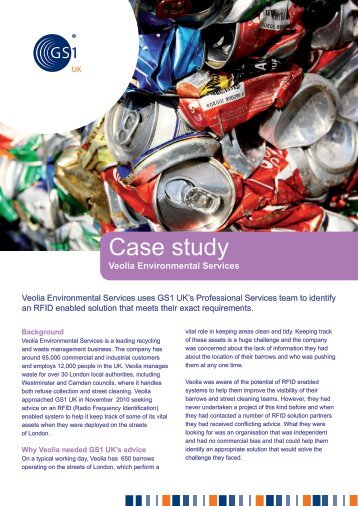 Download full case study pdf - GS1 UK