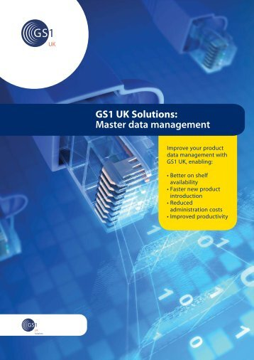 Master Data Management brochure - GS1 UK