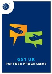 Download our Partner Programme brochure - GS1 UK