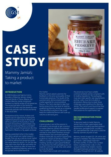 Download the full case study - GS1 UK