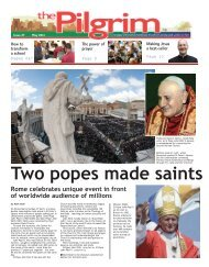 Issue 27 - The Pilgrim - May 2014 - The newspaper of the Archdiocese of Southwark