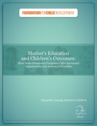 Mothers Education and Childrens Outcomes FINAL