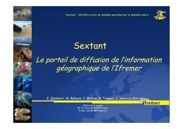 Présentation générale de Sextant - ifremer