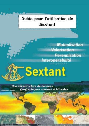 Guide pour l'utilisation de Sextant - ifremer