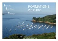 catalogue formations 2011_2012 Version Site BLP - ifremer