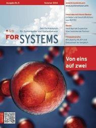 forSYSTEMS Sommer 2014