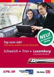 Zugfahrplan - CFL