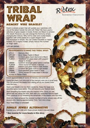 Tribal wrap - Ribtex