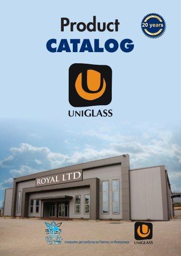 Royal LTD uniglass katalog