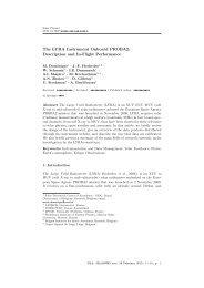 The LYRA Instrument Onboard PROBA2 - Solar Influences Data ...
