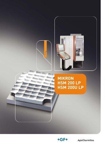 MIKRON HSM 200 LP HSM 200U LP IT