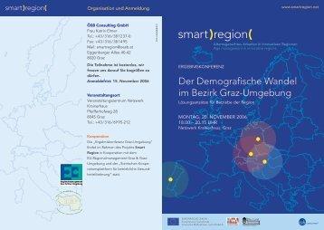 Der Demografische Wandel im Bezirk Graz-Umgebung - Smart Region