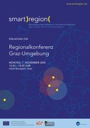 Einladung & Programm - Smart Region