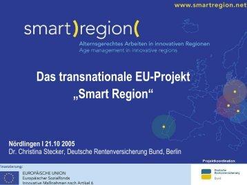 "Das transnationale EU-Projekt ""Smart Region"""