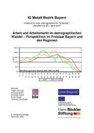 Perspektiven im Freistaat Bayern und den Regionen - Smart Region