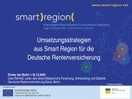 Umsetzungsstrategien aus Smart Region für die Deutsche ...