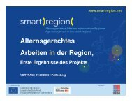 (Microsoft PowerPoint - Vortrag INIFES-Pei ... - Smart Region