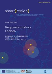 Workshop - Smart Region