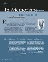 Richard T. Sarkin, MD, EdM - University at Buffalo