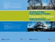 Educator Program - University at Buffalo