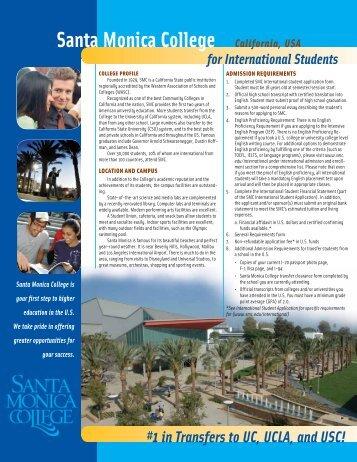 2009_IECfactshtEnglV1PF3 - Santa Monica College