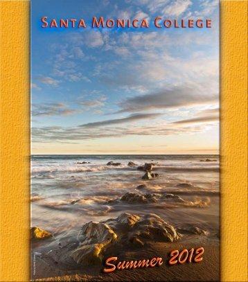 2012_Summer_Schedule - Santa Monica College