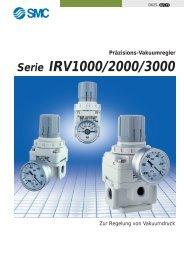 Präzisions-Vakuumregler Serie IRV1000/2000/3000 - SMC