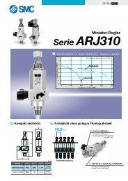 Miniatur-Regler Serie ARJ310 - SMC