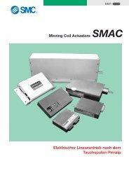 Moving Coil Actuators SMAC Elektrischer Linearantrieb nach ... - SMC