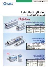 Leichtlaufzylinder - SMC
