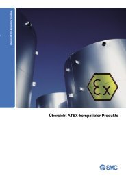 Übersicht ATEX-kompatibler Produkte - SMC