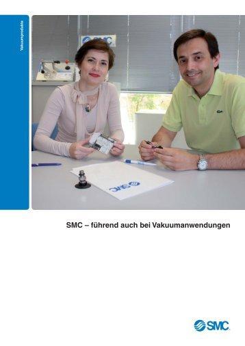 SMC – führend auch bei Vakuumanwendungen