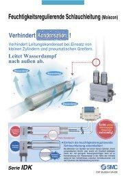 Feuchtigkeitsregulierende Schlauchleitung (Moiscon) - SMC