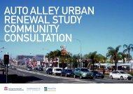 auto alley urban renewal study community consultation - SMDA