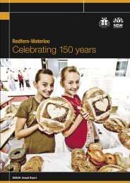 RWA Annual Report 2008-2009 - SMDA - NSW Government