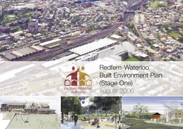 Redfern-Waterloo Built Environment Plan - SMDA - NSW Government