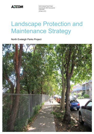 Landscape Protection and Maintenance Strategy - SMDA