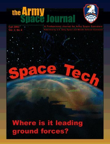 Volume 2, Number 4 - Space and Missile Defense Command - U.S. ...