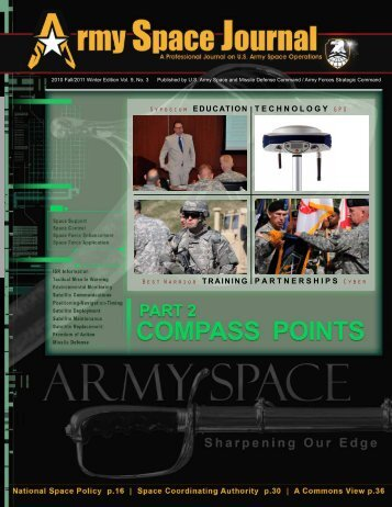 Volume 9, Number 3 - Space and Missile Defense Command - U.S. ...
