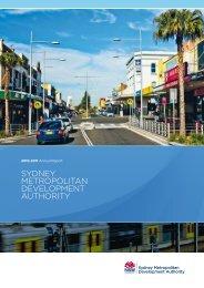 10-11 SMDA Annual Report - SMDA - NSW Government